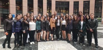 Посещение на Страсбург от група ученици от ПГИ Г.С.Раковски Ямбол и участие в Деня на Евроскола (Day of EUROSCOLA) - Изображение 1